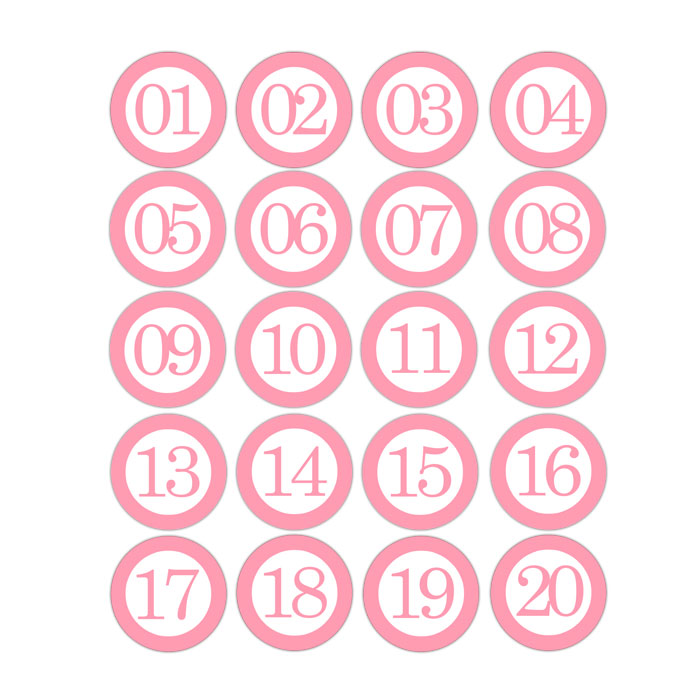 Numbers To 31 Bingo Cards | New Calendar Template Site